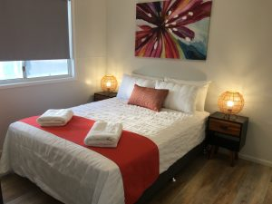 Bedroom at Longreach Private Apartments